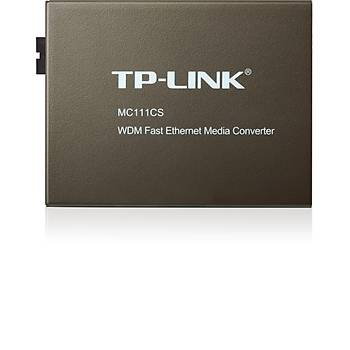 TP-LINK MC111CS WDM FAST ETHERNET MEDYA DÖNÜÞTÜRÜCÜ