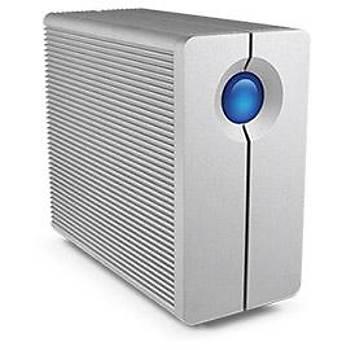 12TB LACIE 3.5 INC STGL12000400 2BIG QUADRA 2X FIREWIRE 800 & USB 3.0 RAID 0/1 FANSIZ HARÝCÝ DÝSK (MAC + PC)