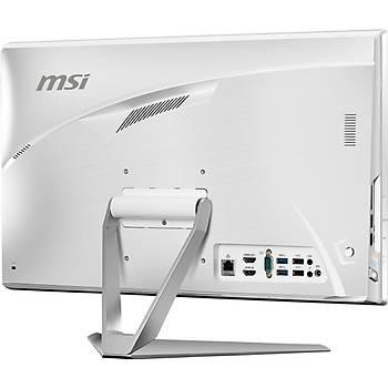 MSI AIO PRO 22XT 9M-029XEU 21.5 LED 1920X1080 (FHD) MULTI-TOUCH CELERON G4930 8GB DDR4 256GB SSD DOS BEYAZ