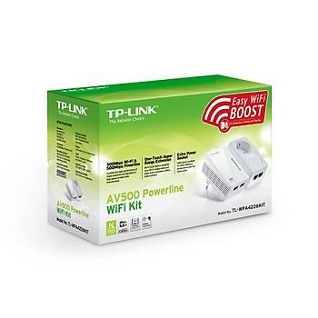 TP-LINK TL-WPA4226 KIT 300Mbps AV500 KABLOSUZ POWERLINE GENÝÞLETÝCÝ