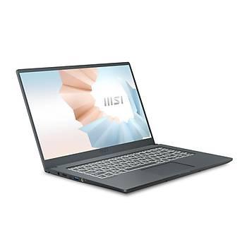 MSI NB MODERN 15 A10RBS-629XTR I5-10210U 8GB DDR4 MX350 GDDR5 2GB 512GB SSD 15.6 FHD DOS KOYU GRI