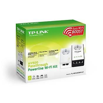 TP-LINK TL-WPA4230PKIT AV500 PASSTHROUGH POWERLINE GENÝÞLETÝCÝ