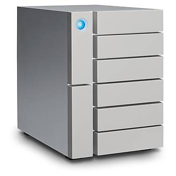 48TB LACIE STFK48000400 6BIG 2X THUNDERBOLT3 + USB 3.1 RAID 0/1/5/6/10/50/60 HARÝCÝ DÝSK, 5 YIL DATA KURTARMA SERVÝSÝ