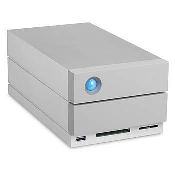 12TB LACIE 3.5 INC STGB12000400 2BIG DOCK STATION 2X THUNDERBOLT3 + USB 3.1 RAID 0/1 HARÝCÝ DÝSK, 5 YIL DATA KURTARMA SERVÝSÝ