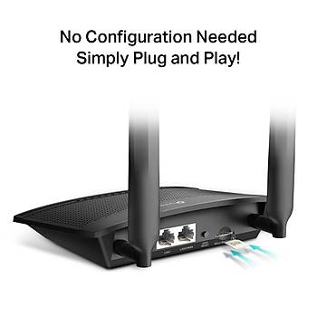 TP-LINK TL-MR100 300MBPS WIRELESS N 4G LTE ROUTER