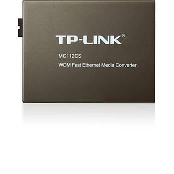 TP-LINK MC112CS WDM FAST ETHERNET MEDYA DÖNÜÞTÜRÜCÜ