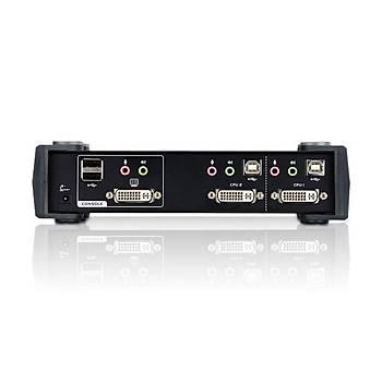 ATEN CS1762A-AT-G 2-PORT USB DVI/AUDIO KVMP SWITCH