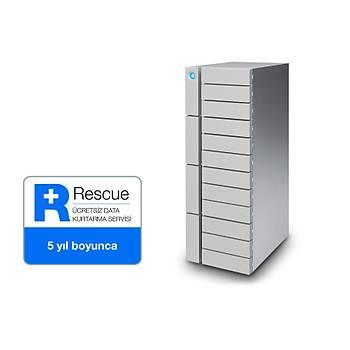 48TB LACIE STFJ48000400 12BIG 2X THUNDERBOLT3 + USB 3.1 RAID 0/1/5/6/10/50/60 HARÝCÝ DÝSK, 5 YIL DATA KURTARMA SERVÝSÝ
