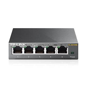 TP-LINK TL-SG105E 5 PORT GIGABIT EASY SMART SWITCH