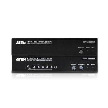 ATEN CE775-AT-G USB VGA D VIEW CAT 5 KVM EXTENDER W/DKW