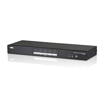 ATEN CS1644A-AT-G 4-PORT USB DVI DUAL DISPLAY KVMP SWITCH