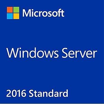 MS WINDOWS SERVER 2016 STD 64BIT TURKCE 24CORE OEM P73-07145