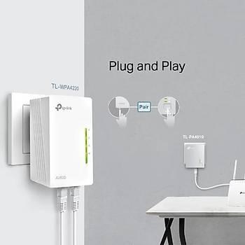 TP-LINK TL-WPA4220 TKIT 300Mbps AV600 KABLOSUZ POWERLINE GENÝÞLETÝCÝ