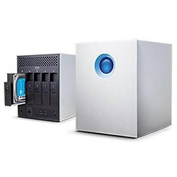 10TB LACIE 3.5 INC STFC10000400 5BIG 2XTHUNDERBOLT2 RAÝD 0/5 SESSÝZ FAN HARÝCÝ DÝSK (MAC + PC)