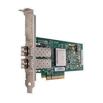 DELL QLOGIC 2562 DUAL PORT 8GB OPTICAL FIBRE CHANNEL HBA FULL HEIGHT 406-BBEK