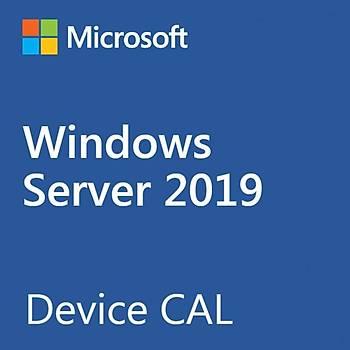 MS WINDOWS SERVER DEVICE CAL 2019 INGILIZCE 5 KULLANICI R18-05829