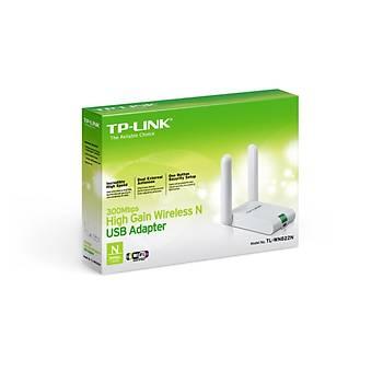 TP-LINK TL-WN822N 300 Mbps KABLOSUZ USB ADAPTÖR