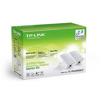 TP-LINK TL-PA4010KIT AV600 NANO POWERLINE ADAPTÖR