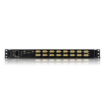 ATEN CL1016M-ATA-TQG 16-PORT PS/2 VGA LCD KVM SWITCH W/TQ KB