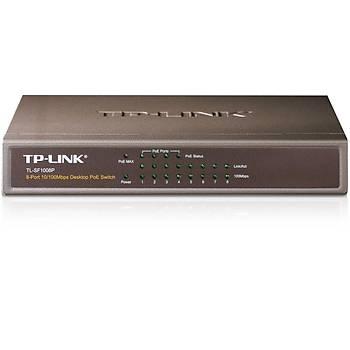 TP-LINK TL-SF1008P 8 PORT 10/100Mbps MASAÜSTÜ SWITCH + 4-PORT PoE