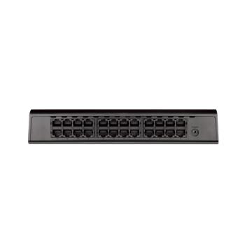 D-LINK DGS-1024A 24 PORT 10/100/1000Mbps PLASTIK KASA YONETILEMEZ MASAUSTU SWITCH