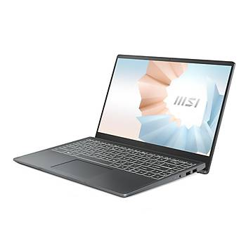 MSI NB MODERN 14 B10RBSW-268XTR I5-10210U 8GB DDR4 MX350 GDDR5 2GB 256GB SSD 14 FHD DOS KOYU GRI