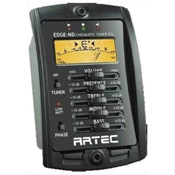 4 BAND EQUALÝZER-LCD KROMATÝK TUNER KUTULU :ARTEC