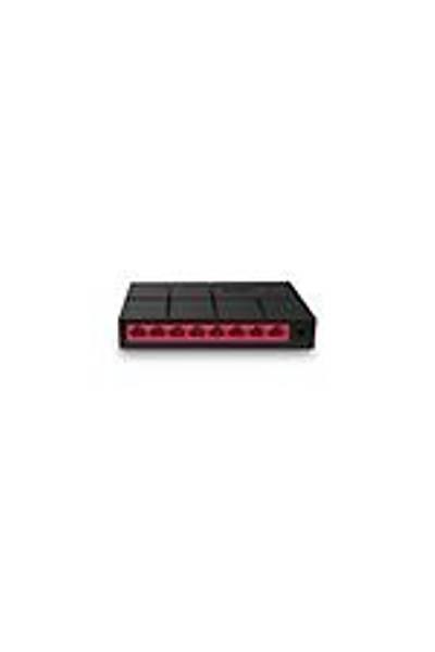 MERCUSYS MS108G 8-port 10/100/1000M mini Desktop Switch RJ45 ports, Plastic case