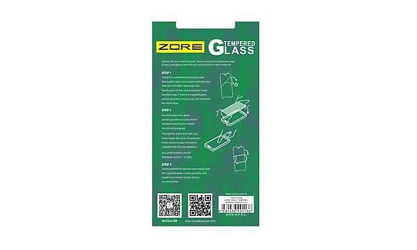 Alcatel U5 Zore Maxi Glass Temperli Cam Koruyucu