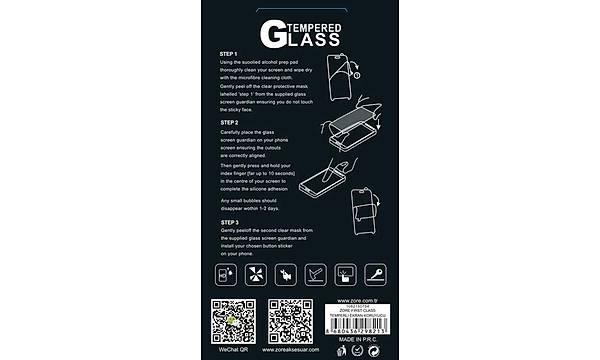 Huawei Mate 8 Zore Temperli Cam Ekran Koruyucu