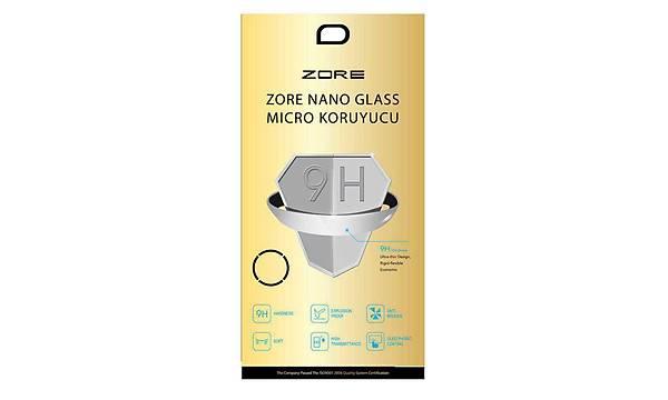 Huawei P20 Pro Zore Nano Micro Temperli Ekran Koruyucu