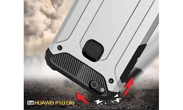 Huawei P10 Lite Kýlýf Zore Crash Silikon Kapak