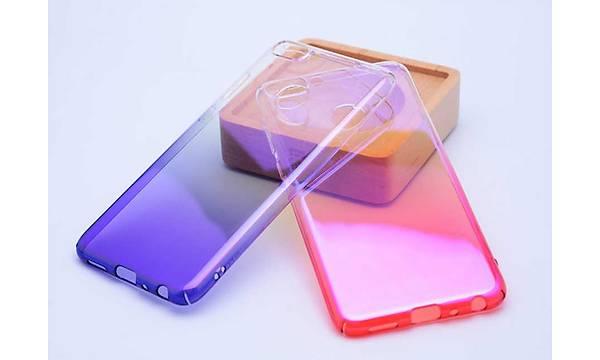Huawei P Smart Kýlýf Zore Renkli Transparan Kapak
