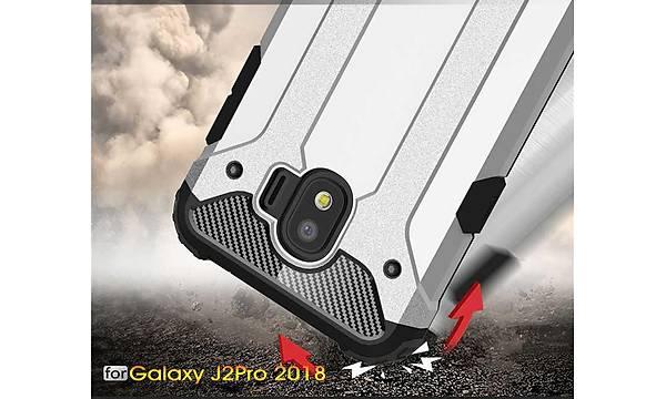 Galaxy J2 Pro 2018 Kýlýf Zore Crash Silikon Kapak