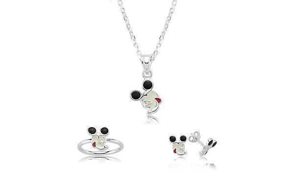 Gümüþ Miki Mouse Çocuk Seti