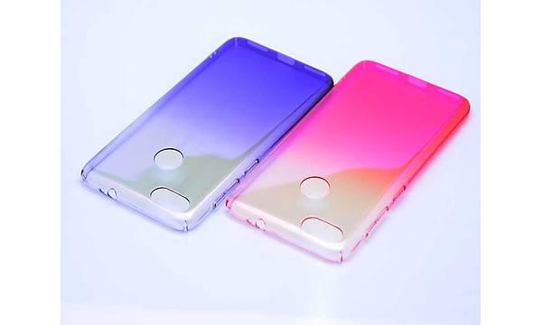Huawei P9 Lite Mini Kýlýf Zore Renkli Transparan Kapak