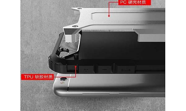 Xiaomi Redmi 5A Kýlýf Zore Crash Silikon Kapak