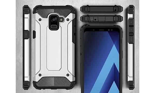 Galaxy A8 2018 Kýlýf Zore Crash Silikon Kapak