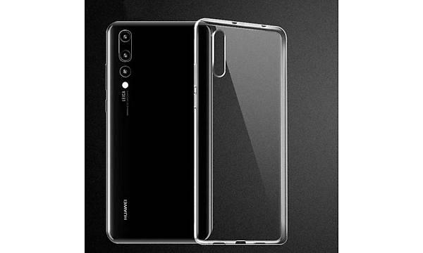 Huawei P20 Kýlýf Zore Ultra Ýnce Silikon Kapak 0.2 mm