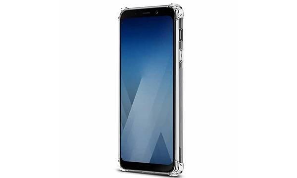 Galaxy A8 2018 Kýlýf Zore Nitro Anti Shock Silikon