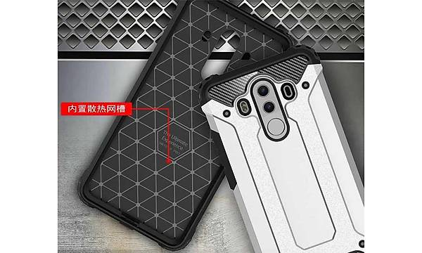 Huawei Mate 10 Pro Kýlýf Zore Crash Silikon Kapak