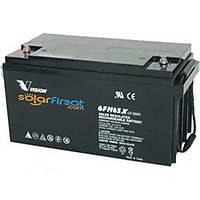 Vision 12 Volt 65 Amper AGM Akü