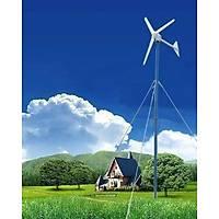 1500 Watt 24/48V Rüzgar Türbini + Þarj kontrol ünitesi