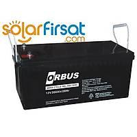 A(18) Orbus Carbon Jel Akü 200 Amper 12 Volt