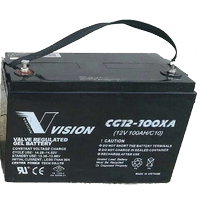 A(05) Vision 100 Amper 12 Volt Jel Akü