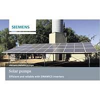 Siemens 3 HP SOLAR SÜRÜCÜ + KONT.PANOSU monofaze