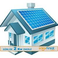 Güneþ Enerjisi Paketi / Günlük 2 Kw Enerji