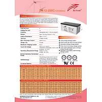 Ritar Carbon Akü 200 Amper 12 Volt