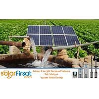 Solar Sulama - 4 Hp / 3 Kw Trifaze