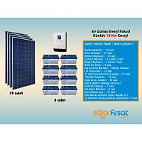 Güneþ Enerjisi Paketi / Günlük 18 Kw Enerji